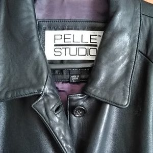 Large Wilson's Pelle Studio Leather Jacket